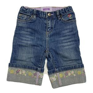 Baby Gap Embroidered Floral Jeans
